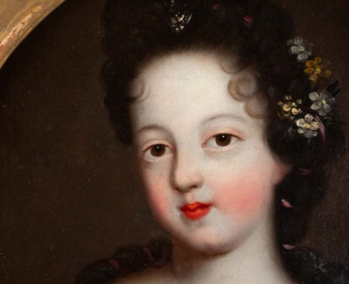 Paintings & Drawings  - A Portrait of a Royal princess - French school of the 17th century