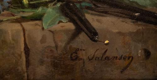 Eugènie Marie Salanson (1836 - 1912) - : A Bouquet of meadow flowers. -