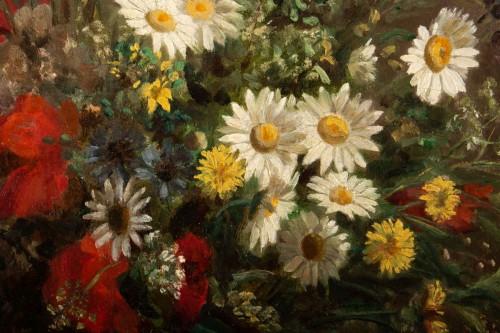 - Eugènie Marie Salanson (1836 - 1912) - : A Bouquet of meadow flowers.