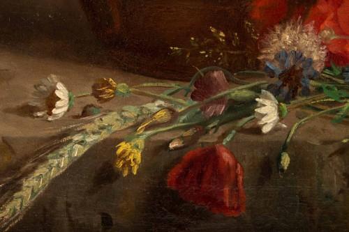 Antiquités - Eugènie Marie Salanson (1836 - 1912) - : A Bouquet of meadow flowers.
