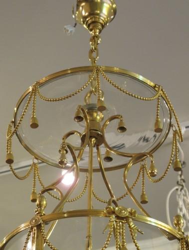 Lighting  - A Louis XVI style lanterne.
