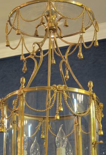 A Louis XVI style lanterne. -