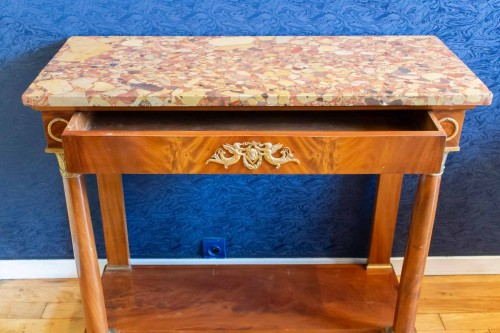 19th century - A 1st Empire console table