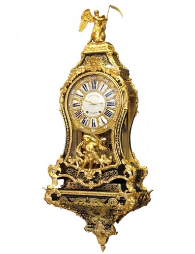 A Louis XVbracket clock