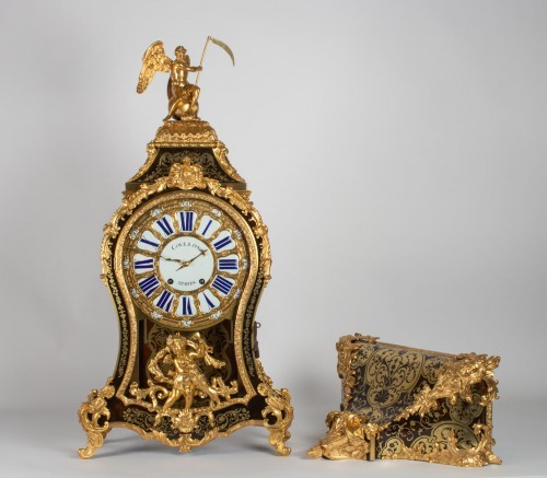 A Louis XVbracket clock - Clocks Style Louis XV