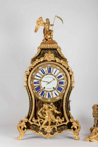 A Louis XVbracket clock -