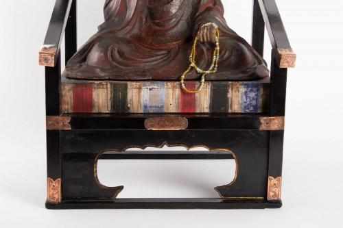 Asian Art & Antiques  - Kôbô-daishi - Kûkai - Japan late 17th early 18th century