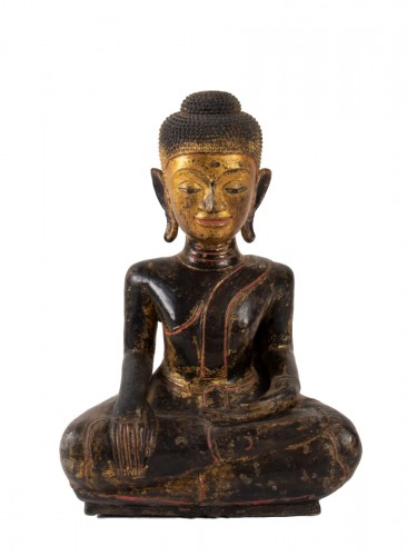 A Statue of Buddha sitting, Thailand 19th century