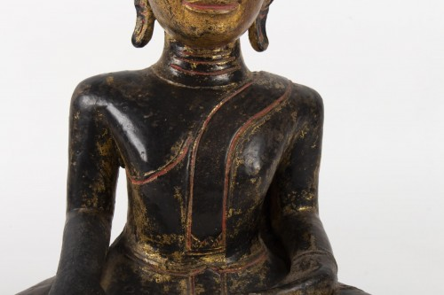 A Statue of Buddha sitting, Thailand 19th century -