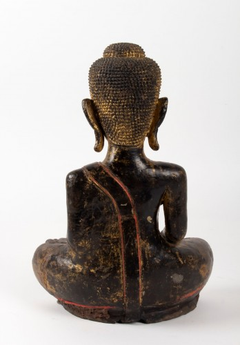 19th century - A Statue of Buddha sitting, Thailand 19th century