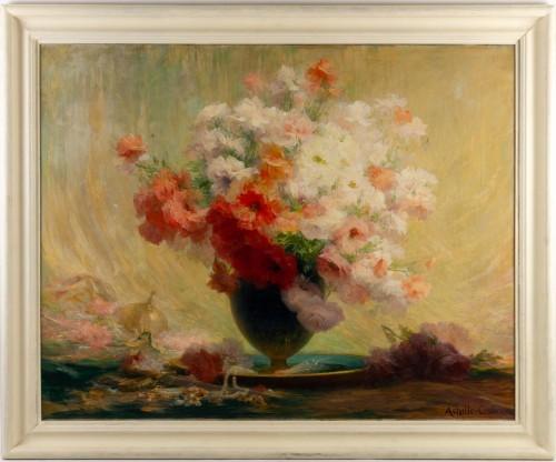 Bouquet of flowers - Achille Cesbron (1849-1915) -