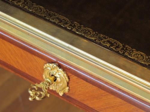 A Louis XV style desk.  -