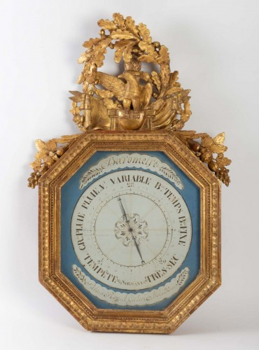 A First Empire period (1804 - 1815) barometer -