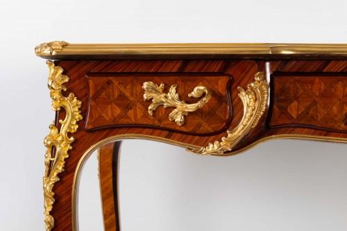 - A Desk in Louis XV style.