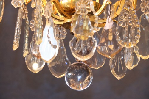 A Louis XV style chandelier. -