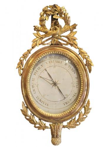 A Louis XVI barometer
