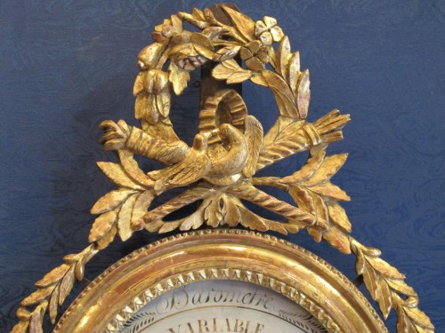 A Louis XVI barometer - Decorative Objects Style Louis XVI