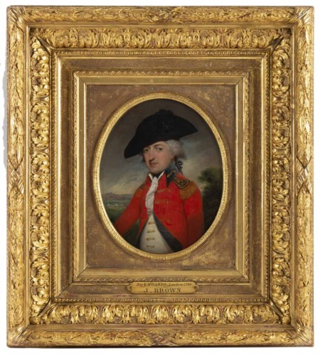 John Brown (1752 - 1787) : Portrait of Sir Edwards