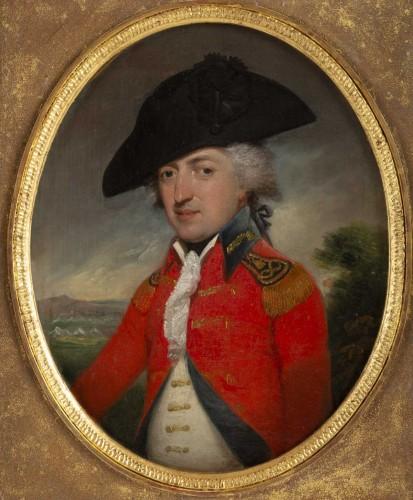 John Brown (1752 - 1787) : Portrait of Sir Edwards - Paintings & Drawings Style