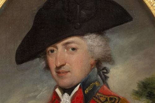 Paintings & Drawings  - John Brown (1752 - 1787) : Portrait of Sir Edwards