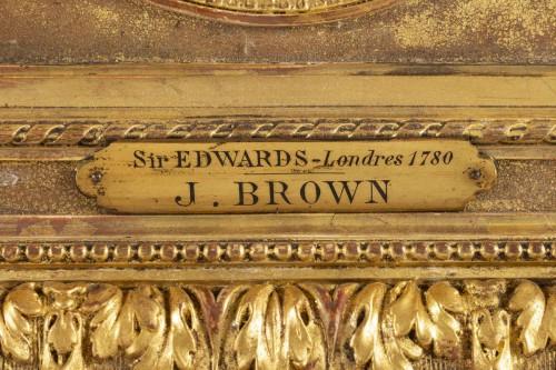 18th century - John Brown (1752 - 1787) : Portrait of Sir Edwards