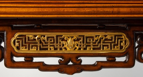 Furniture  - A Vitrine-cabinet-on-stand attributed to Gabriel Viardot