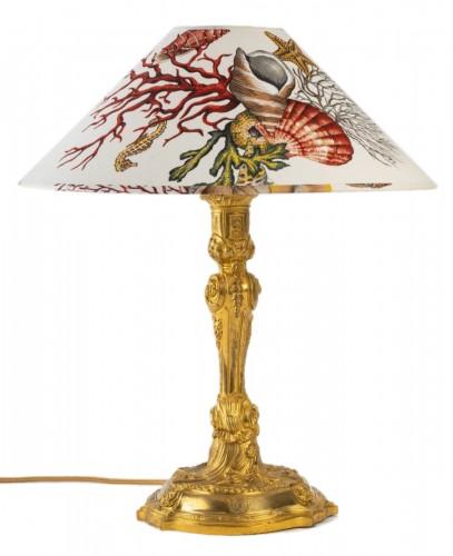 A Napoleon III Lamp candelstick
