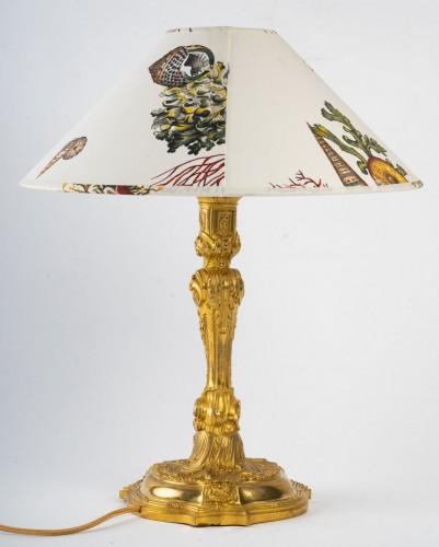 A Napoleon III Lamp candelstick - Lighting Style Napoléon III