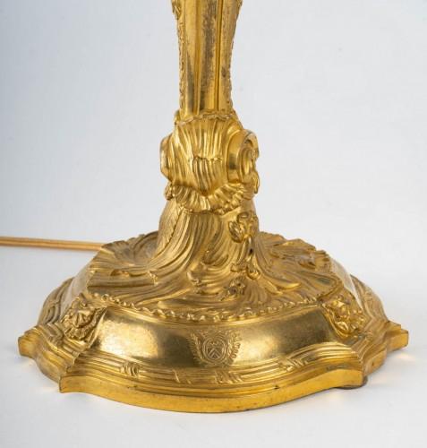 19th century - A Napoleon III Lamp candelstick