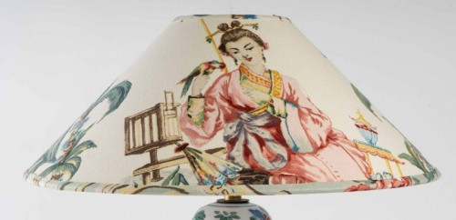 A Chinese Porcelain Lamp - Lighting Style