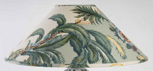 A Chinese Porcelain Lamp -