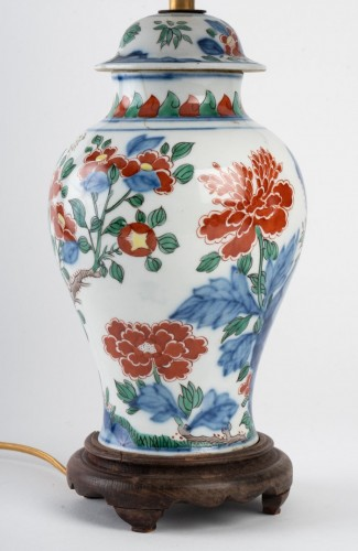 19th century - A Chinese Porcelain Lamp