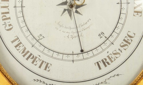 Decorative Objects  - A First Empire period Barometer