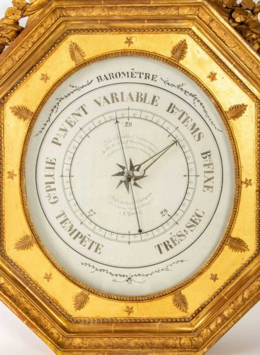 19th century - A First Empire period Barometer