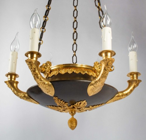 Lighting  - A Chandelier in the First Empire Style