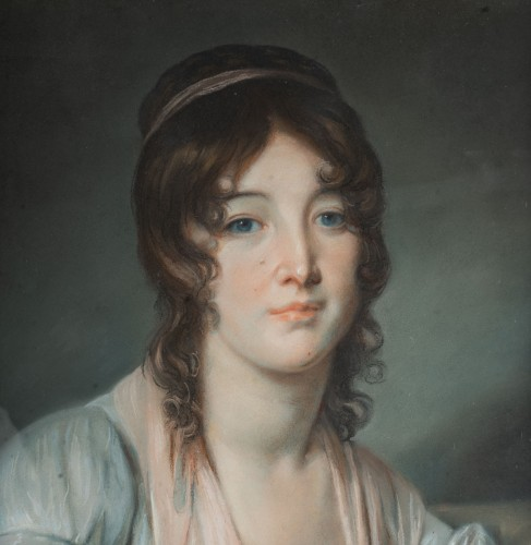 Paintings & Drawings  - A Pair of portraits, France 1st part of the 19th century