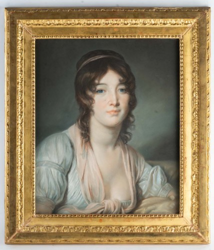 A Pair of portraits, France 1st part of the 19th century -
