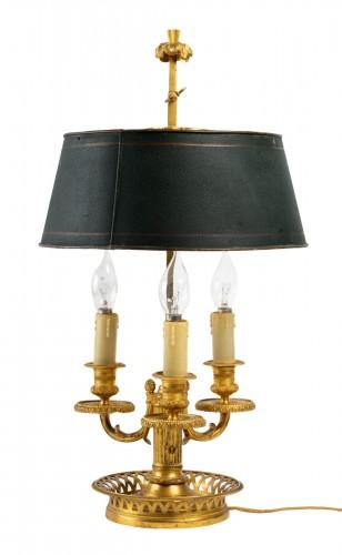 A  Bouillotte Lamp