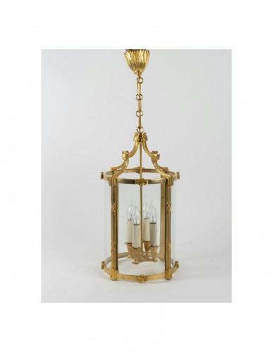 Lighting  - A Pair of Louis XVI style lanterns