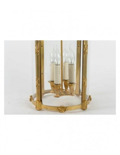 A Pair of Louis XVI style lanterns -