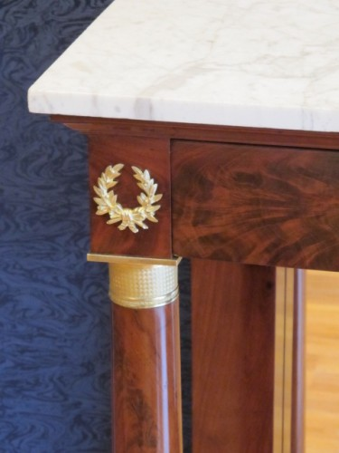 A Pair of 1st Empire (1804 - 1815) console tables. - Empire