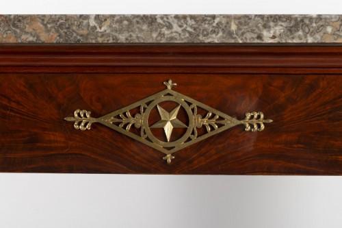 A 1st Empire period (1804 - 1815) console table. -