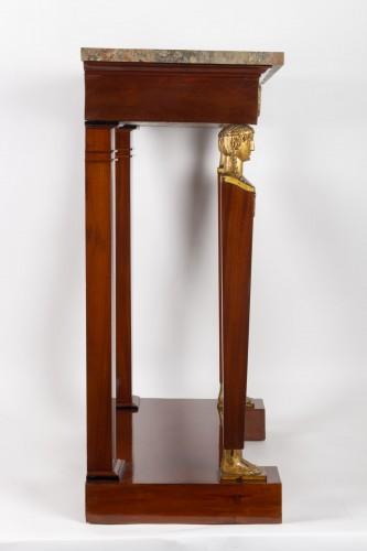Empire - A 1st Empire period (1804 - 1815) console table.