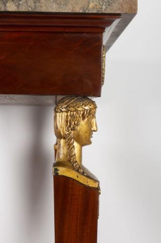 Antiquités - A 1st Empire period (1804 - 1815) console table.
