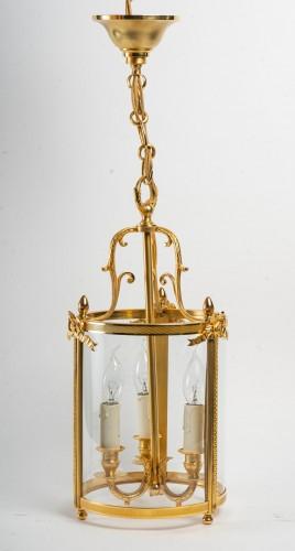 A Pair of Lanterns in Louis XVI Style -
