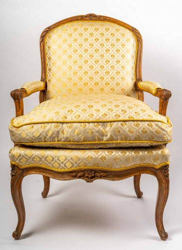 A Pair of Louis XV fauteuil -