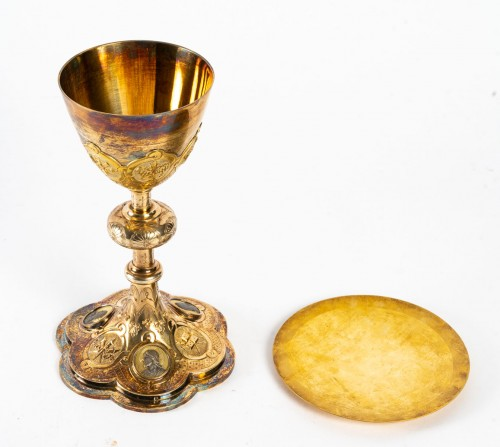 Religious Antiques  - Chalice and its Paten
