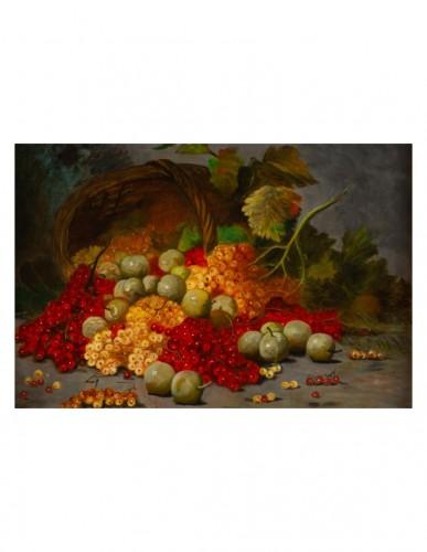 Johann Carl Rohmer (1891 - 1943) -  Still Life with Redcurrants -