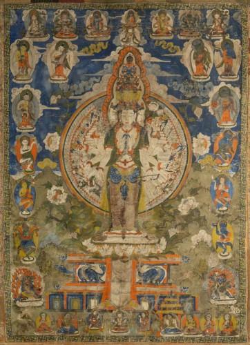Asian Works of Art  - Thang-ka