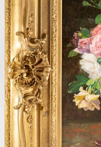 A Bouquet of roses - Justin Julles Claverie (1859 - 1932) -